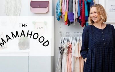 Carly joins The Mamahood as a mentor for independent mum-run brands